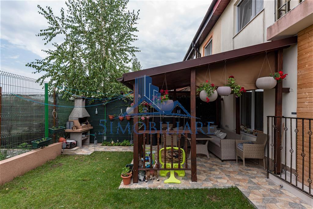 Pipera- Cartierul Rezidential American Village- vila tip duplex de vanzare COMPLET utilata si mobilata