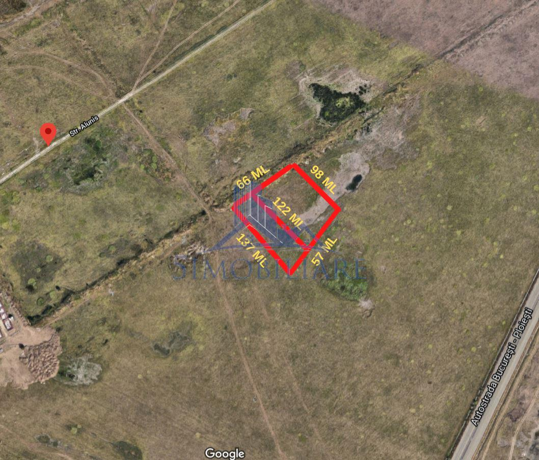 Pipera, teren intravilan de vanzare- 9084 mp, 42 Euro/mp