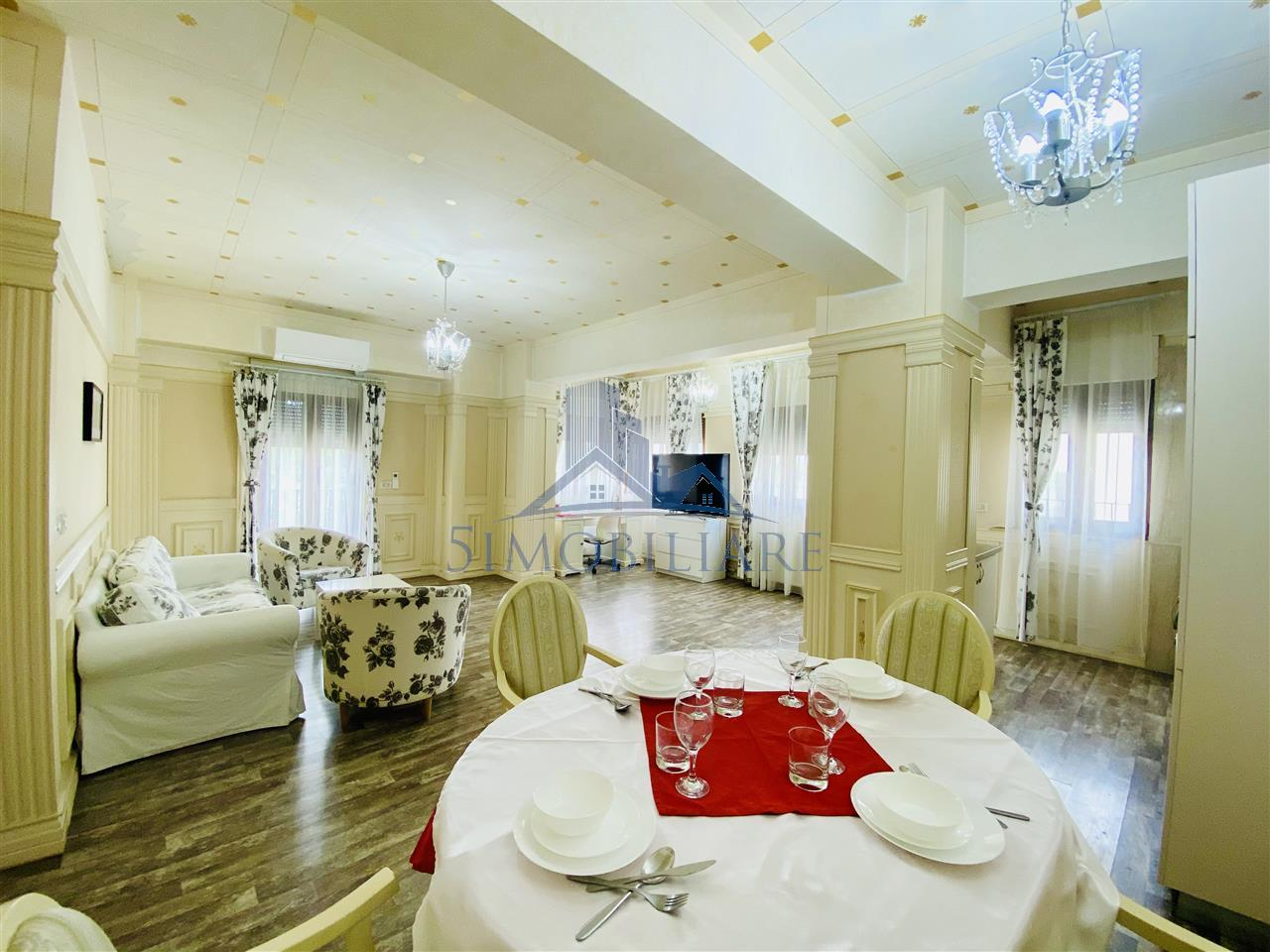 Apartament elegant 3 camere Baneasa -Tur Video atasat