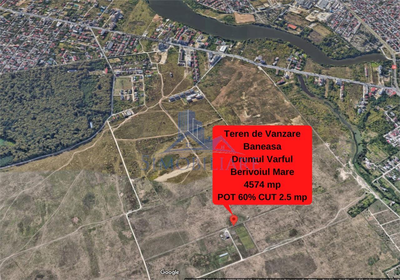 Baneasa- Teren Intravilan de Vanzare- 4574 mp
