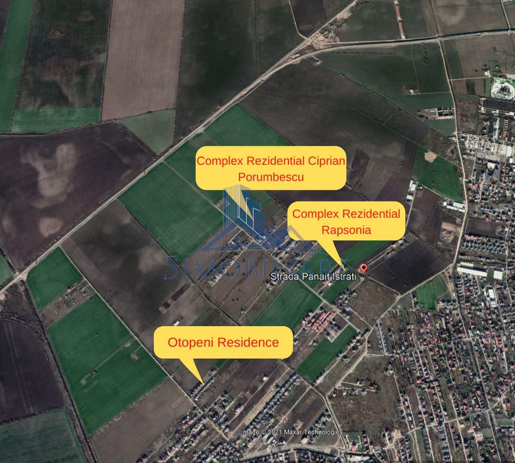 Otopeni- Teren de Vanzare- Str. Ciprian Porumbescu Comision 0%
