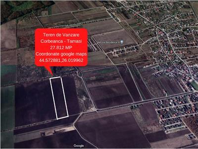 Corbeanca- Oportunitate de Investitie- 27.812 mp