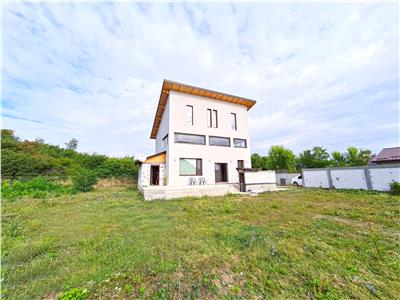 Vila individuala de vanzare in Domnesti-Teghes, langa padure. Comision 0%.
